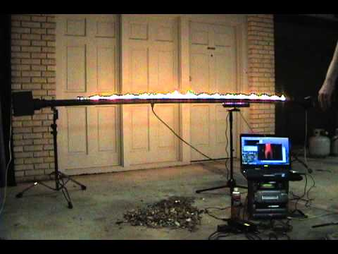 Kinect Hack – Fire Theremin