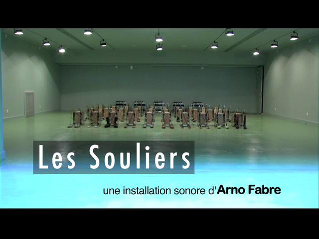 Les Souliers – Interactive Installation