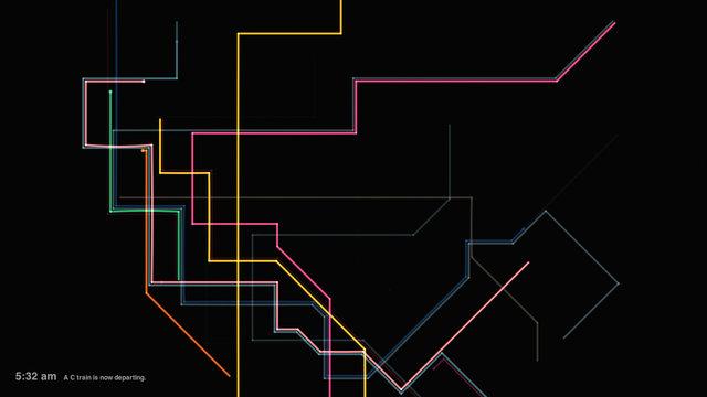 La Mappa Della Metro di New York come strumento musicale