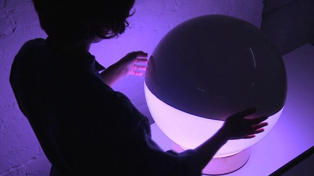 X&Y Lampada Interattiva di Flynn Talbot