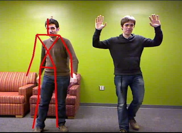 Kinect Hack – Poooowww Baaaamm!