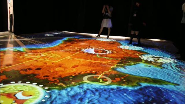 Discover Australia – Interactive Floor