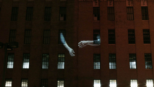 A Show Of Hands – Video Mapping