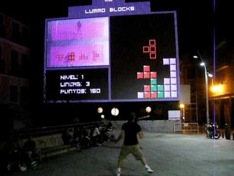 Lummo Blocks – Interactive TETRIS