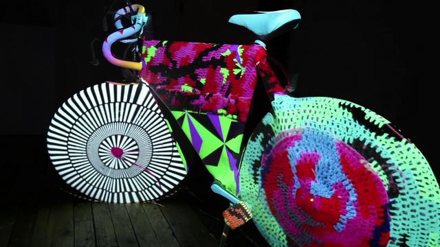 Video Mapping Bicycle