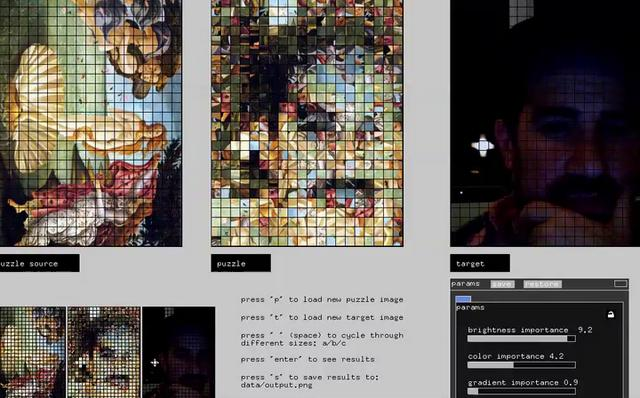 Photomosaic Processing