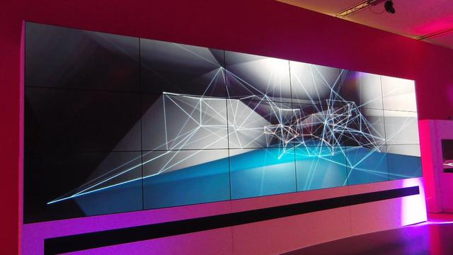 Generative Art for Telekom Stand