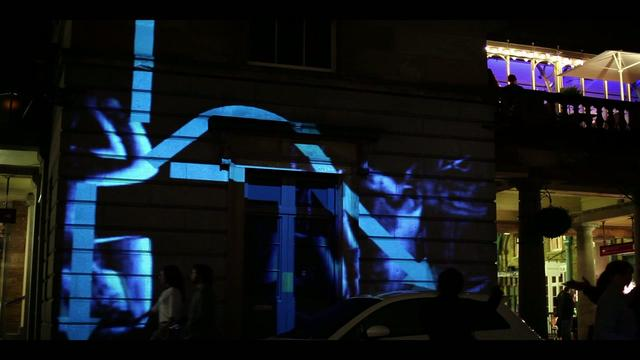 Ovi Maps – Interactive Projection Mapping
