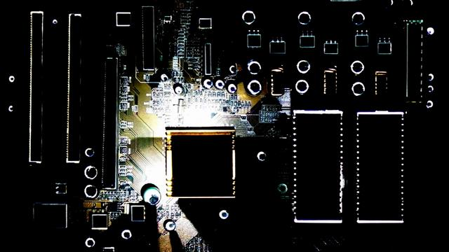 Luca Agnani – Video Mapping Motherboard