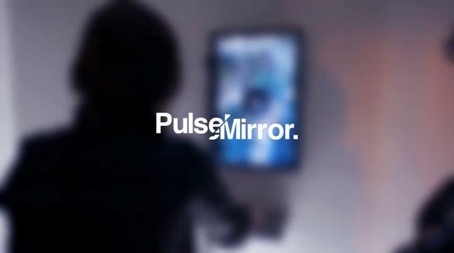 Pulse Mirror – Interactive Installation