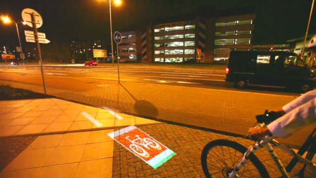 Bicycle Projection Art Project