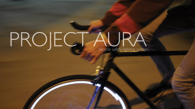 Project Aura – Led on Bike