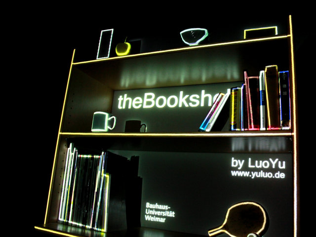 Luo Yu – Video Mapping Experiment