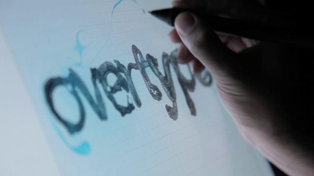 Overtype – Interactive Tech + Illustration