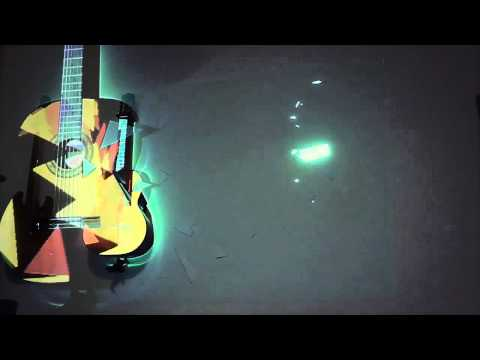Projection Mapping a Guitar