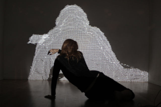 Interactive Video-Dance Performance