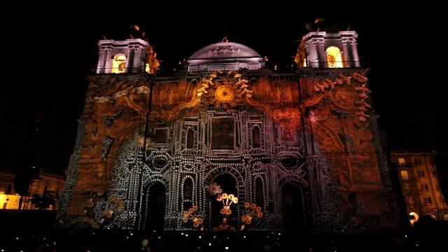 Video Mapping – Guelaguetza # 2