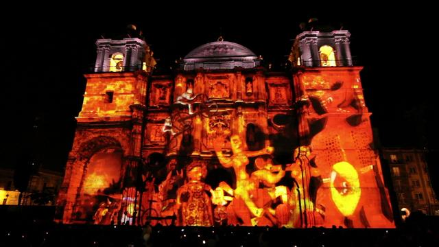 Video Mapping – Guelaguetza # 3