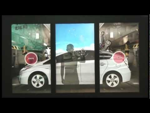 Toyota Vision Wall – Interactive Marketing