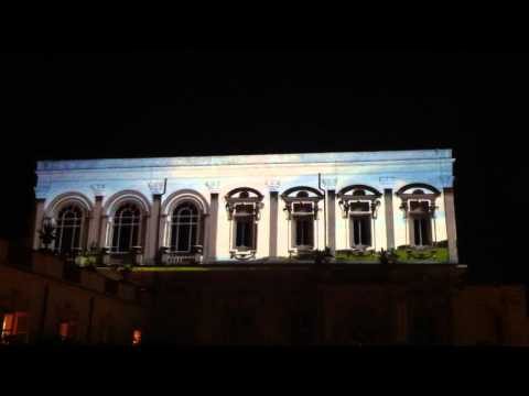 Glasspiel – Video Mapping