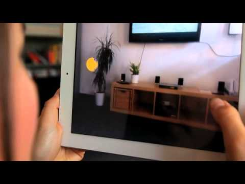Augmented Reality On Tablet