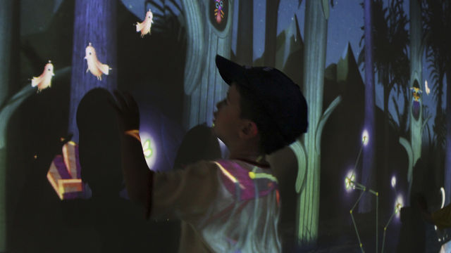 Night Bright – Interactive Installation