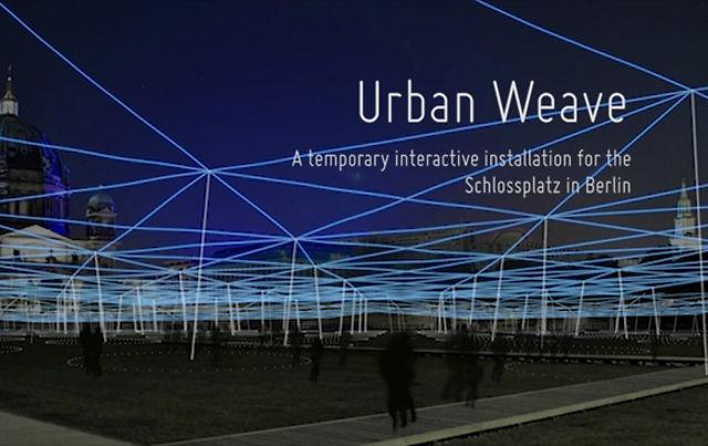 Urban Weave – Interactive Installation
