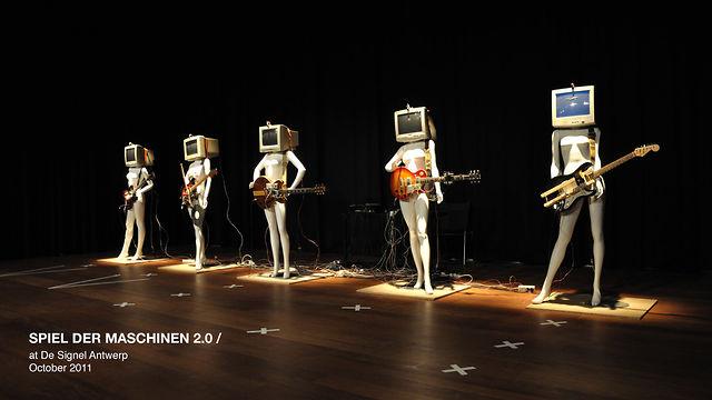Spiel der Maschinen 2.0 – Sound Sculpture