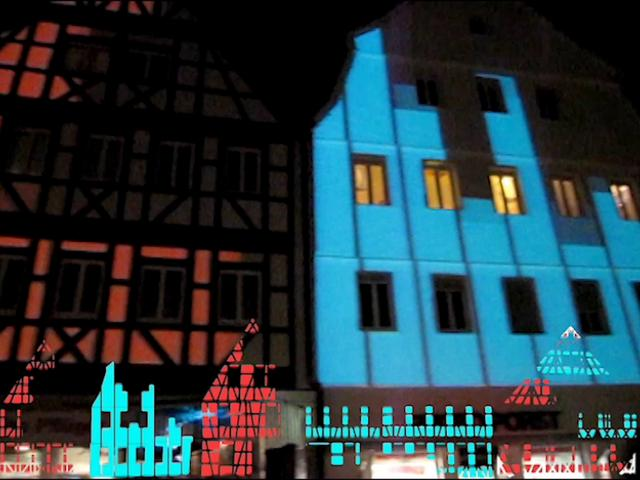 Waiblingen Leuchtet 2011 – Video Mapping