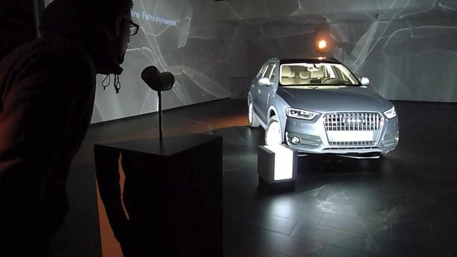 Audi Q3 – Interactive Video Mapping