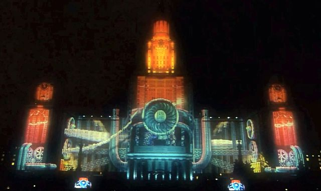 Moscow – Large Scale Projection Show