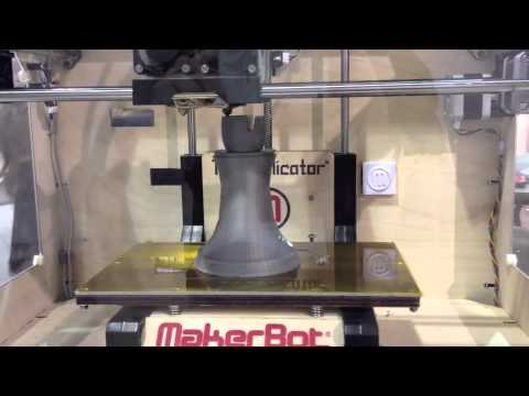 CES 2012 – 3D Printer
