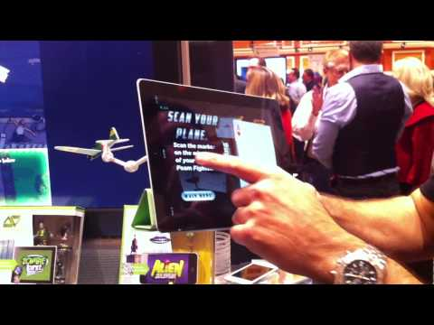 CES 2012 – Augmented Reality Gaming