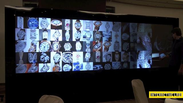 Cartier – Multi-Touch Wall