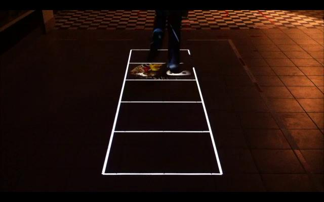 Reha Discioglu – Interactive Hopscotch