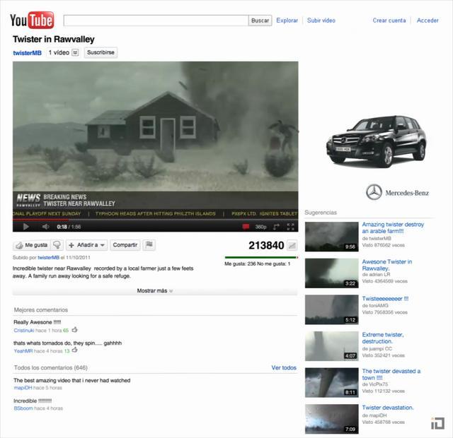 Mercedes Benz GLK – Viral Campaign