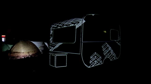 360° Caravan Video Mapping