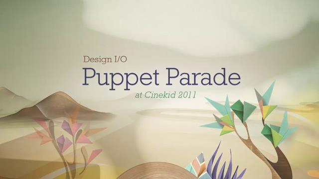 Puppet Parade – Interactive Installation