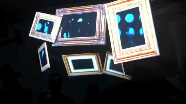 Frames – Video Mapping Experiment
