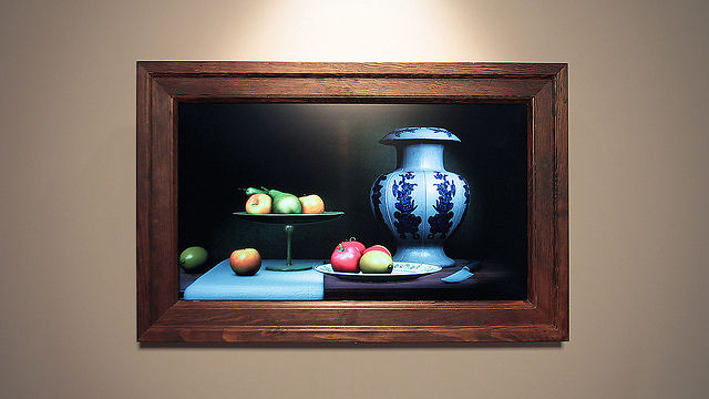 Still Life – Interactive Wall Piece