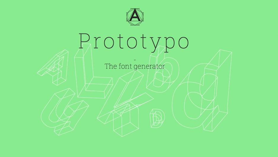 prototypo_font_generator