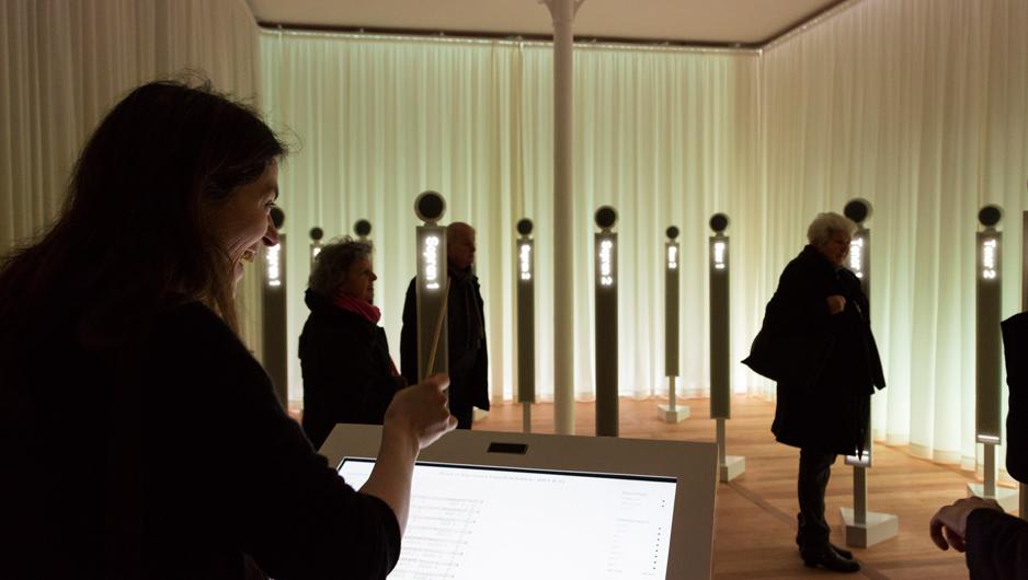 Mendelssohn Effektorium installation