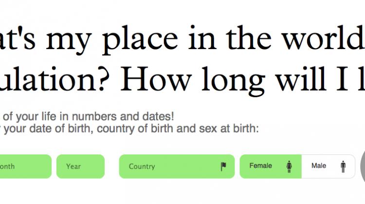 population.io demographic data visualization
